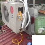 Nạp ga sửa chữa điều hòa LG tại hải phong