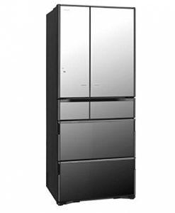 Tủ lạnh Hitachi R-X6200F-X (đen gương) 6 cánh cửa điện có hút chân không