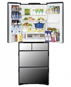 Tủ lạnh Hitachi R-X5200F hút chân không với 6 cửa có trợ lực điện