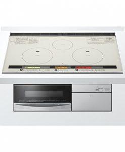 Bếp từ Hitachi HT-K8STWF với bai bếp từ IH và lò nướng