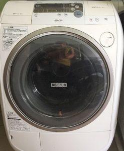Máy giặt Hitachi BD-V1100L giặt 9KG sấy 6KG, Inverter chuyển động trực tiếp, có Nano titanlum, DPS chống rối