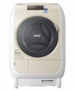 Máy giặt HITACHI BD-V3600L lồng nghiêng có sấy, giặt 9KG và sấy khô 6KG