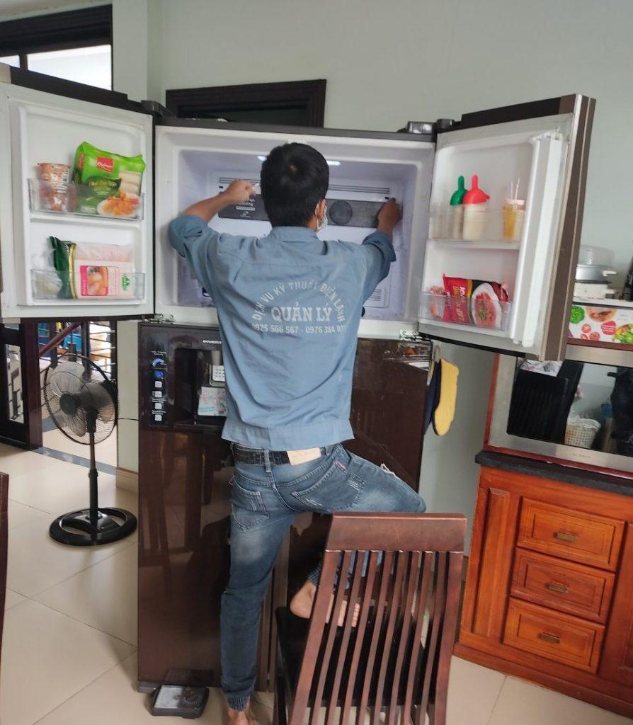 Sửa tủ lạnh tại Kiến An