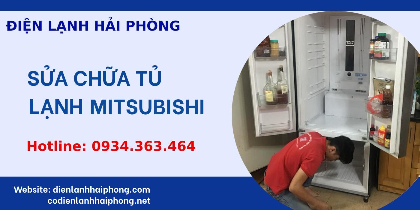 Sửa chữa tủ lạnh Mitsubishi Hải Phòng